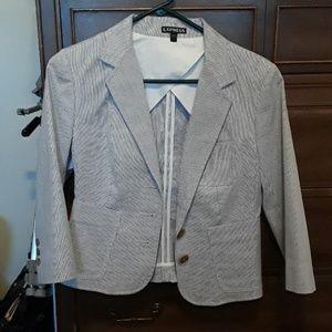 Ladies pinstripe Express blazer